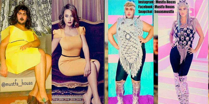 En photos  : L'humoriste tunisien Mustfa Houas parodie les poses des célébrités sur Instagram