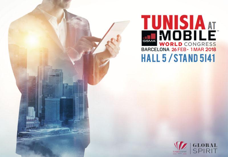 La Tunisie à l'honneur au salon Mobile World Congress de 2018 à Barcelone