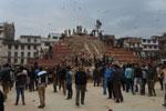 Séisme au Népal : L'héritage culturel réduit à des tas de gravats