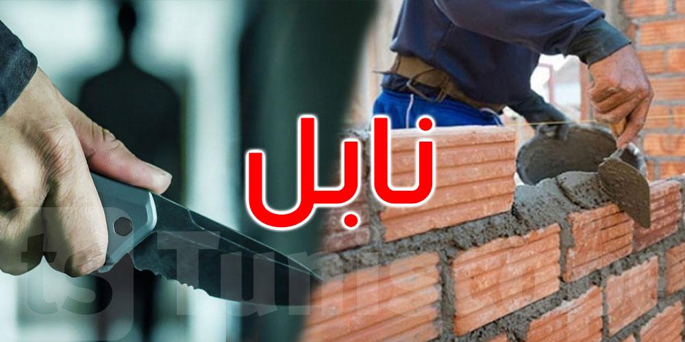 عامل بناء يطعن صاحبة المنزل ليرديها قتيلة و يحيل جارتها على الإنعاش