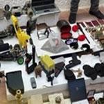 Détails sur l'affaire du conteneur et précision concernant le type d'armes saisies