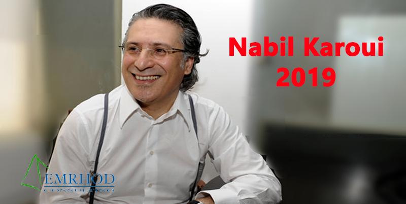 2% d'intentions de votes pour le parti de Nabil Karoui qui n'existe pas, selon Emrhod Consulting