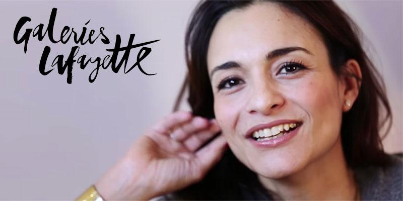 En vidéo : Le parcours de la Tunisienne Nadia Dhouib directrice des Galeries Lafayette