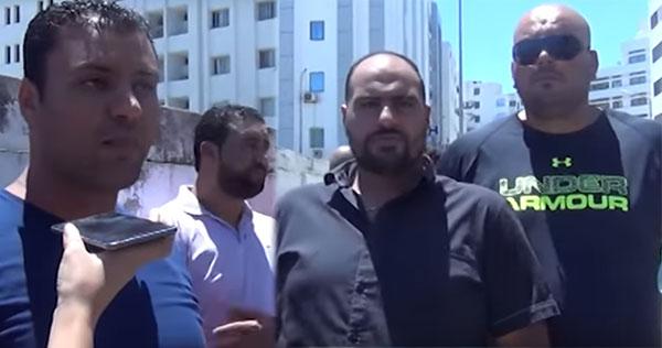''مرافقو قيادات حركة النهضة يحتجّون: ''طردونا لأننا لسنا أبناء الحركة