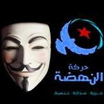 Anonymous Tunisia s'attaque encore une fois à Ennahdha