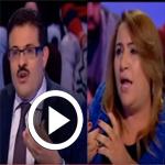 En vidéo : Rafik Abdessalem affirme qu'Ennahdha a sauvé le pays et Naïma El Jeni répond....