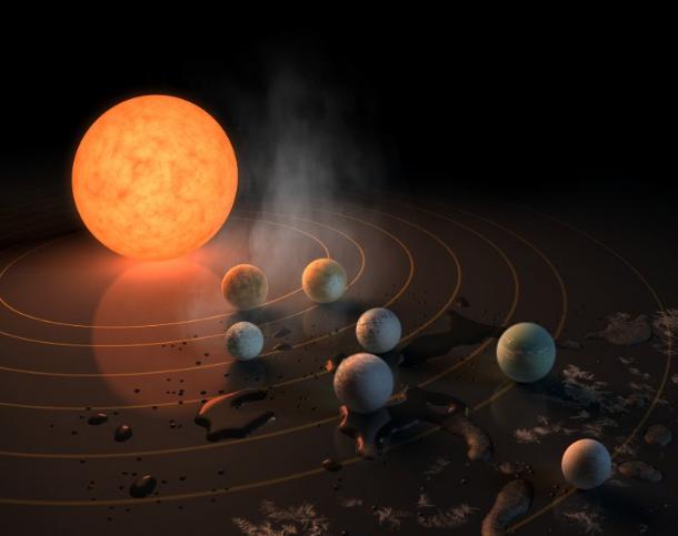 ناسا تكشف عن وجود سبعة كواكب بحجم الأرض