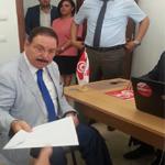 العربي نصرة يقدم ملف ترشحه للانتخابات الرئاسية