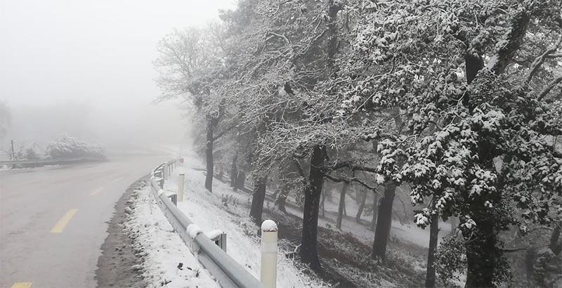 تحيين من معهد الرصد الجوي: تواصل موجة البرد والثلوج