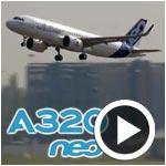 En vidéo : Le premier Airbus 320 NEO effectue son premier vol avec succès