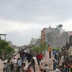 Séisme au Népal : des lieux historiques détruits, plus de 150 morts