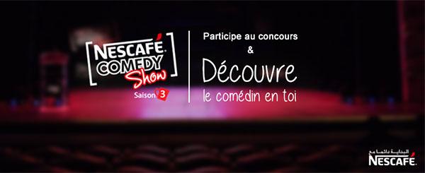 NESCAFÉ Comedy Show saison 3 : l'aventure commence