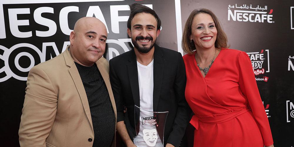 En photos : Mohamed Barakati remporte la 6ème édition de NESCAFÉ COMEDY SHOW
