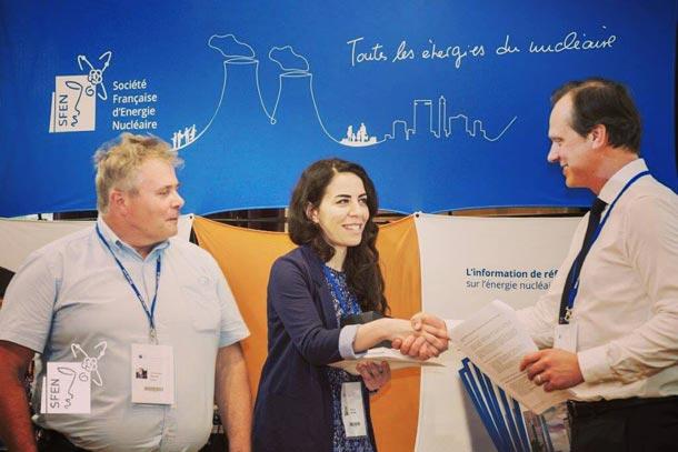 Nesrine Gharbi, une Tunisienne récompensée par le prix Jean Bourgeois pour ses travaux sur l'énergie nucléaire
