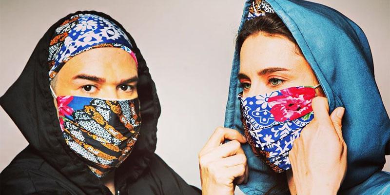 En photos: Newport propose des combinaisons et des masques stylés