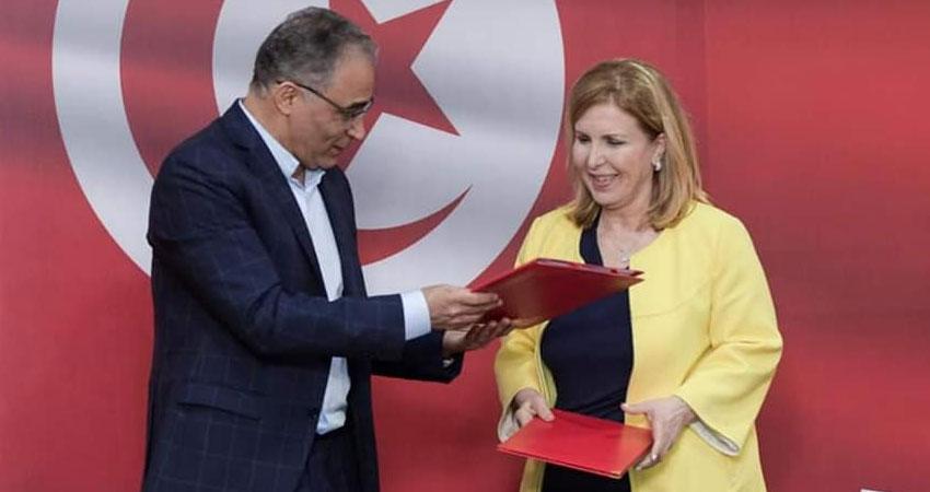 إمضاء اتفاق تحالف بين نداء تونس الحمامات ومشروع تونس