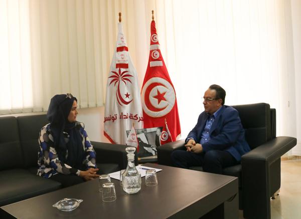 أرملة لطفي نقض تلتحق بنداء تونس