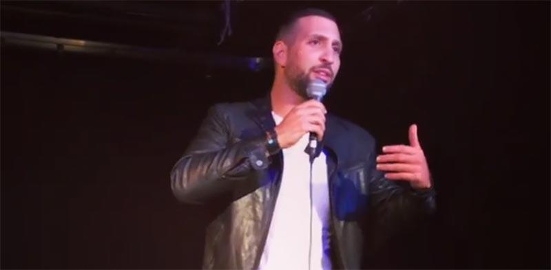بالفيديو: نضال السعدي يقدم عرضا كوميديا ''بالانجليزية'' في كندا