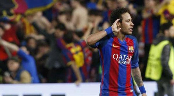 برشلونة يعلن تسلمه 222 مليون يورو لفسخ عقد نيمار
