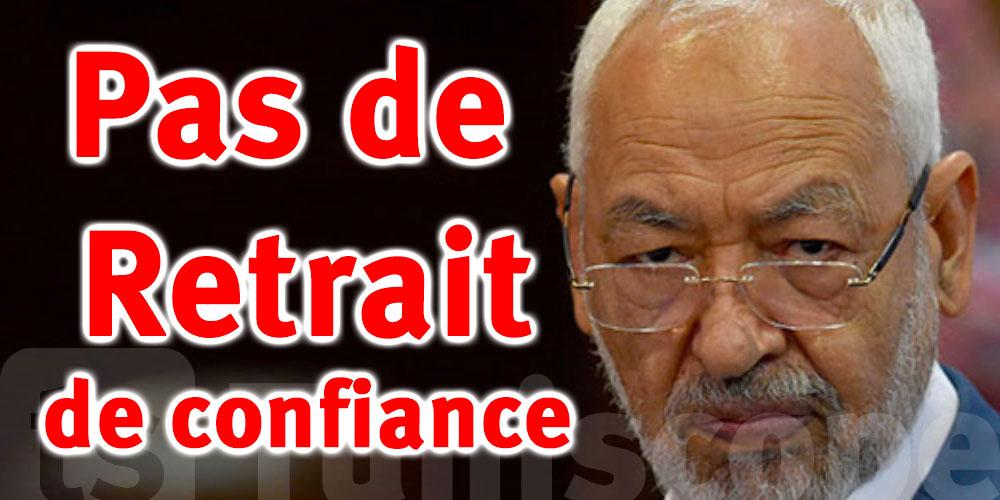 Urgent, Rached Ghannouchi reste président de l'ARP