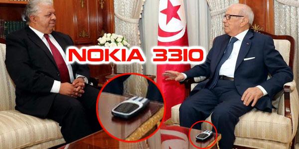 Béji Caid Essebsi, un Geek passionné du Nokia 3310 ?