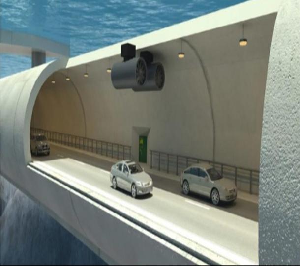 النرويج تبني أول نفق عائم تحت الماء