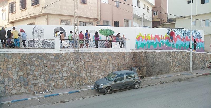 En photos: les jeunes de Ras Jebel honorent l'histoire de la ville