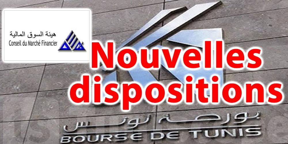 Modification du règlement de parquet de la Bourse de Tunis