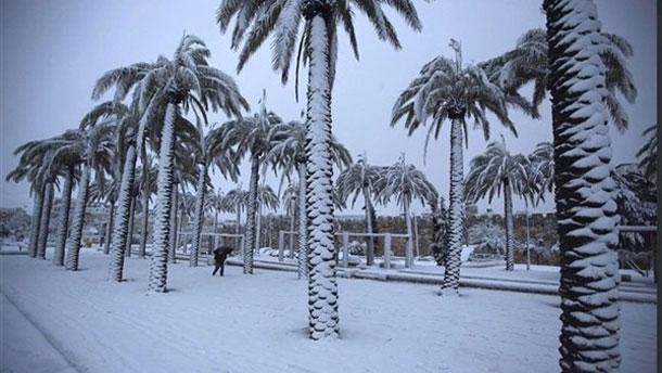 De la neige en Arabie Saoudite, après plus de 85 ans