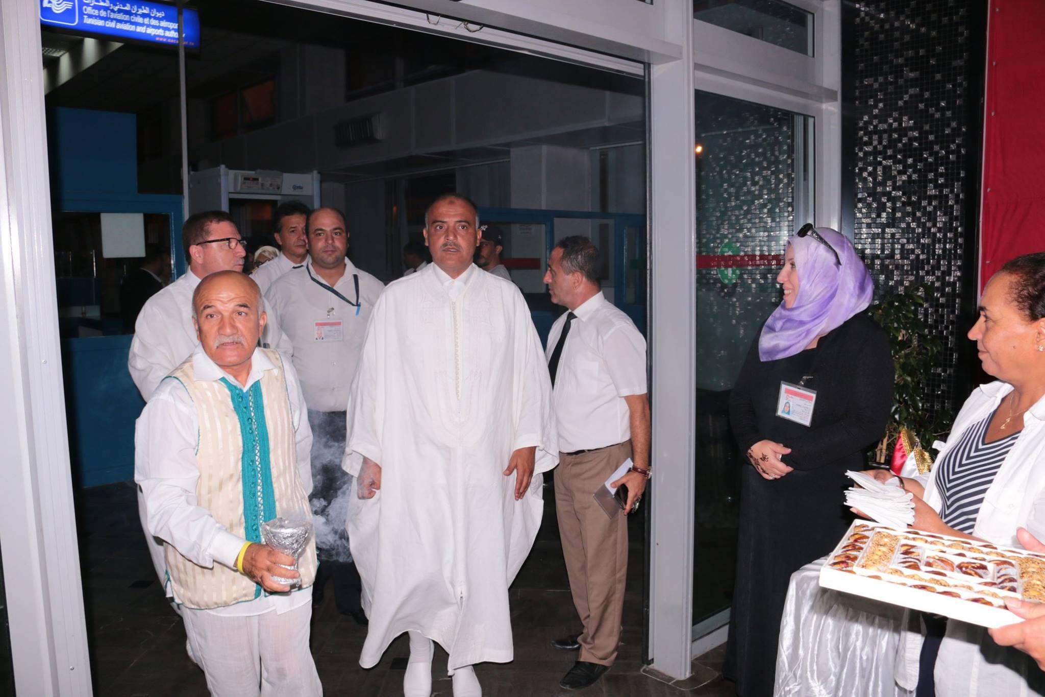 بالصّور : إنطلاق رحلة الوفد الرسمي لموسم الحج 2018 بإتجاه البقاع المقدسة
