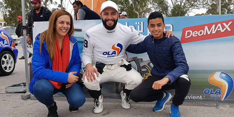 OLA Energy crée son propre Team de pilotes autos et motos en Tunisie