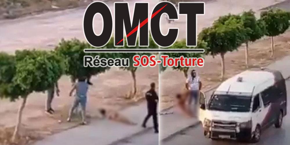 SOS torture en colère après les violences policières à Sidi Hassine