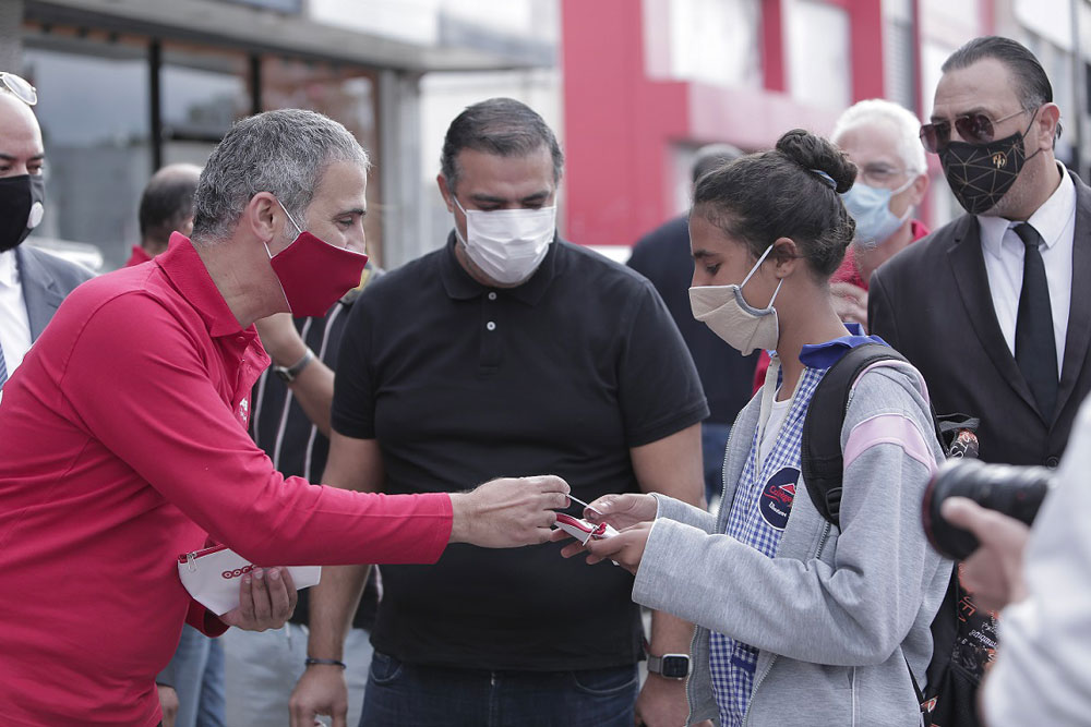 Ooredoo تواصل إلتزامها ودعمها الوطني لمكافحة انتشار وباء Covid-19