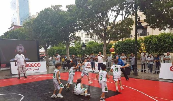 Ooredoo Tunisie honore la sélection nationale de Basketball