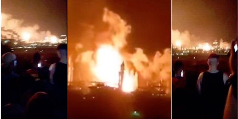 En Algérie, une forte explosion à la zone industrielle à Oran