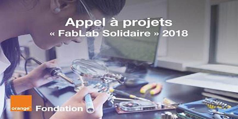 Orange Tunisie, avec l'appui de la Fondation Orange, lance son appel  à projets « FabLab Solidaire » pour l'année 2018