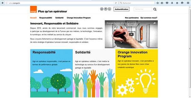 Orange Tunisie lance sa plateforme « Plus qu'un opérateur »