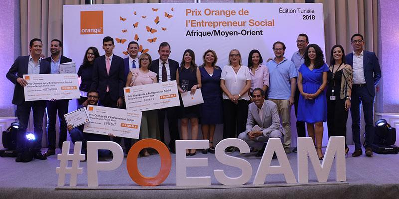 En vidéo : Le triomphe des Entrepreneurs Sociaux 2018 par Orange Tunisie