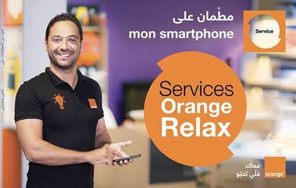 Avec le nouveau programme Orange Relax, profitez d'un service d'accompagnement de votre Smartphone