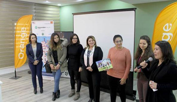 Challenge international Technovation 2017 : Orange Tunisie et Technovation Tunisia soutiennent les jeunes lycéennes pour le développement d'applications citoyennes