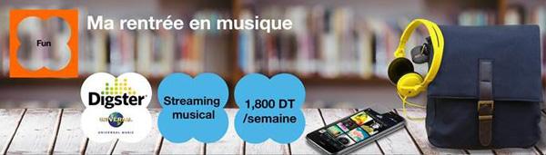 Nouveau : Orange Tunisie lance en avant-première le service DIGSTER d'Universal Music