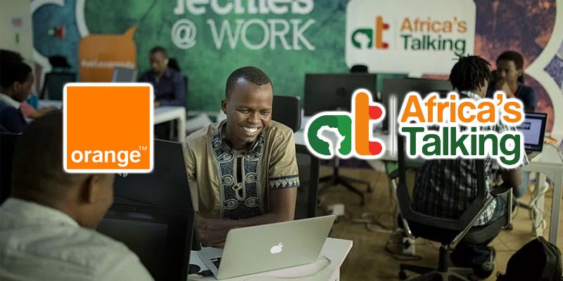 Orange investit dans Africa's Talking, leader des APIs de communication et paiement mobile pour les développeurs