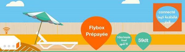 Orange lance la Flybox 3G prépayée à 59 DT seulement