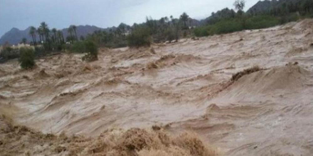 Une bergère emportée par les eaux de l'oued El Kharroub