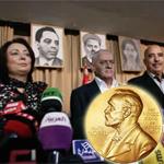 AFP titre : Nobel paix: un hommage aux martyrs de la Tunisie démocratique