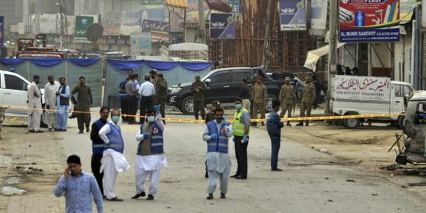 Pakistan: au moins cinq morts dans un attentat à Lahore