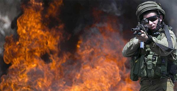 الجيش الإسرائيلي يطلق الرصاص على فلسطيني