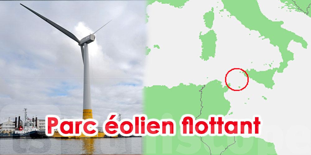 Un parc éolien flottant entre la Sicile et la Tunisie