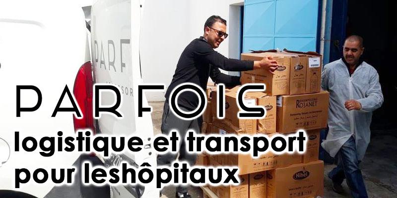 PARFOIS met à disposition sa flotte pour vos dons aux hôpitaux