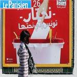 Le parisien titre : ''Législatives en Tunisie : scrutin serré pour les islamistes d'Ennahda''